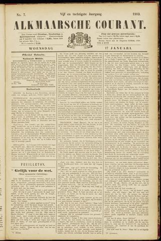 Alkmaarsche Courant 1883-01-17
