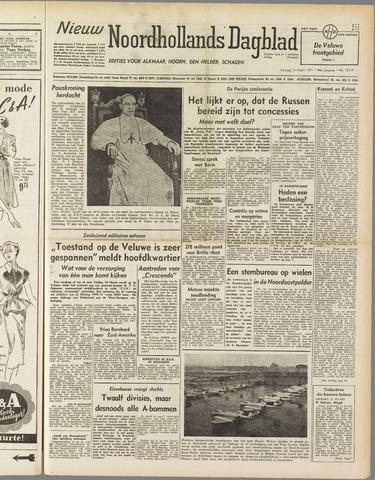 Nieuw Noordhollandsch Dagblad : voor Alkmaar en omgeving 1951-03-13