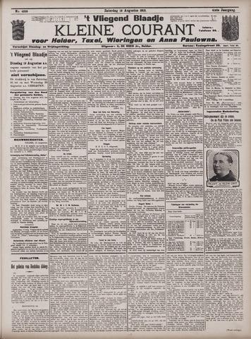 Vliegend blaadje : nieuws- en advertentiebode voor Den Helder 1913-08-16