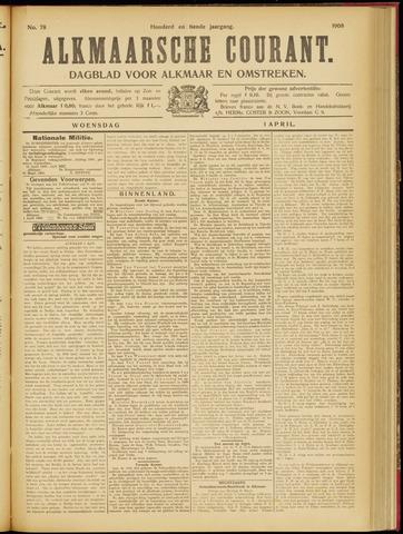 Alkmaarsche Courant 1908-04-01