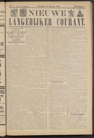 Nieuwe Langedijker Courant 1923-01-20