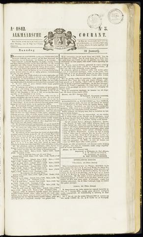 Alkmaarsche Courant 1842-01-31