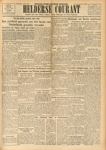 Heldersche Courant 1949-05-12