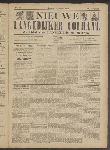 Nieuwe Langedijker Courant 1896-04-12