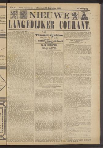 Nieuwe Langedijker Courant 1922-08-22