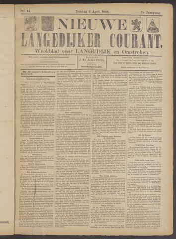 Nieuwe Langedijker Courant 1898-04-03
