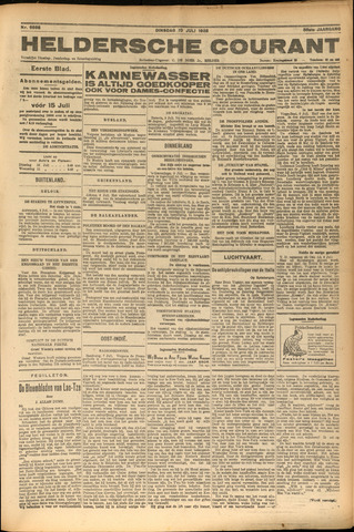 Heldersche Courant 1928-07-10
