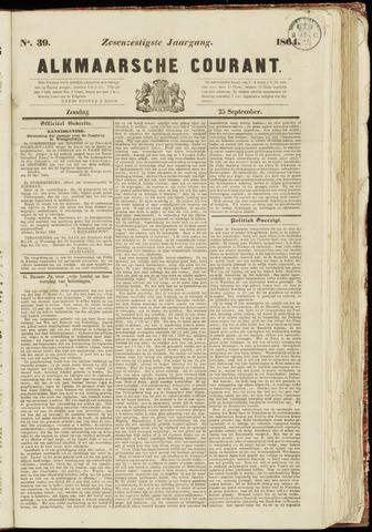 Alkmaarsche Courant 1864-09-25