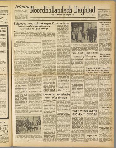 Nieuw Noordhollandsch Dagblad : voor Alkmaar en omgeving 1947-02-17