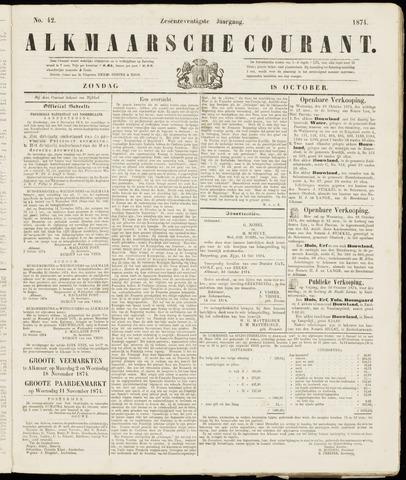 Alkmaarsche Courant 1874-10-18