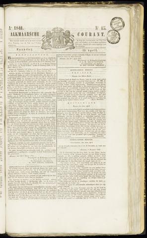 Alkmaarsche Courant 1841-04-12