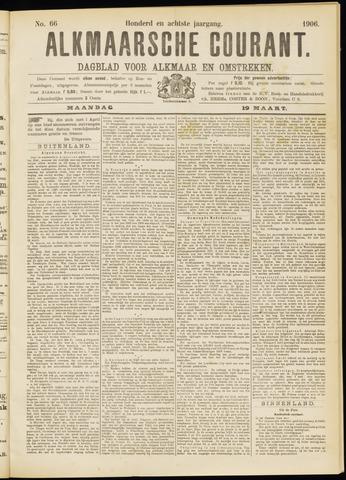 Alkmaarsche Courant 1906-03-19