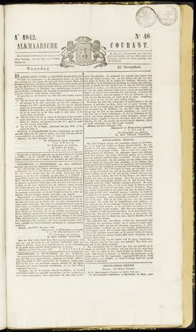 Alkmaarsche Courant 1842-11-28