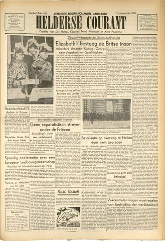 Heldersche Courant 1952-02-09