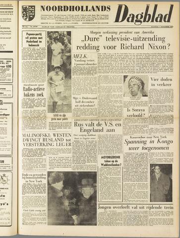 Noordhollands Dagblad : dagblad voor Alkmaar en omgeving 1960-11-07