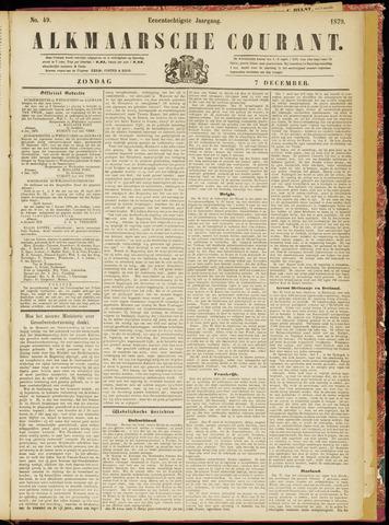 Alkmaarsche Courant 1879-12-07