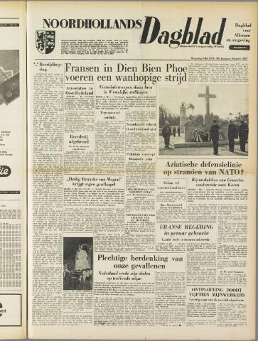 Noordhollands Dagblad : dagblad voor Alkmaar en omgeving 1954-05-05