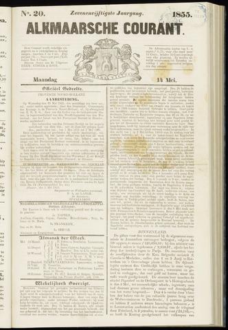 Alkmaarsche Courant 1855-05-14