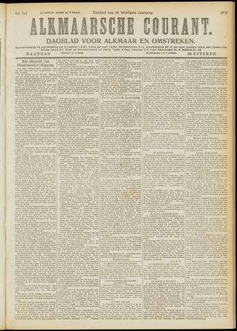 Alkmaarsche Courant 1919-10-20