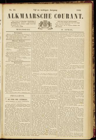 Alkmaarsche Courant 1883-04-11