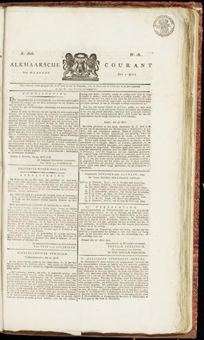 Alkmaarsche Courant 1826-05-01