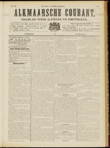 Alkmaarsche Courant 1910-03-25