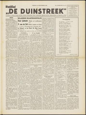 De Duinstreek 1948-09-10