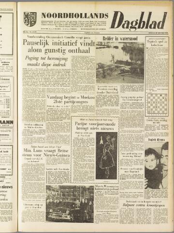 Noordhollands Dagblad : dagblad voor Alkmaar en omgeving 1959-01-27