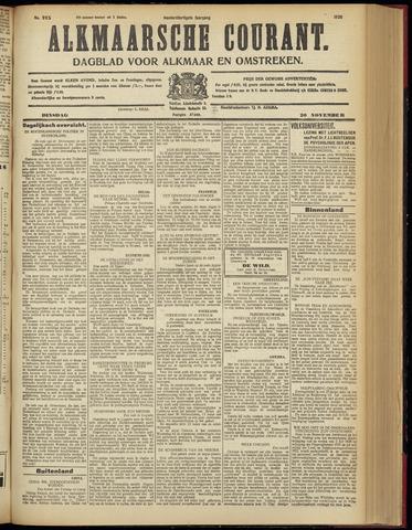 Alkmaarsche Courant 1928-11-20