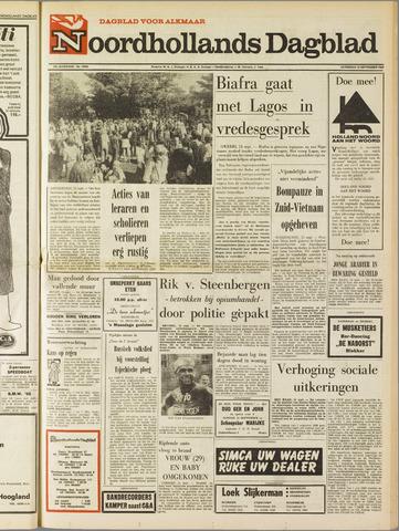 Noordhollands Dagblad : dagblad voor Alkmaar en omgeving 1969-09-13