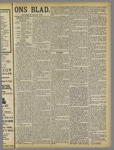 Ons Blad : katholiek nieuwsblad voor N-H 1910-01-29