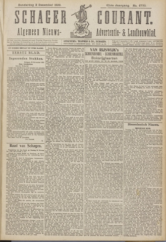 Schager Courant 1920-12-02