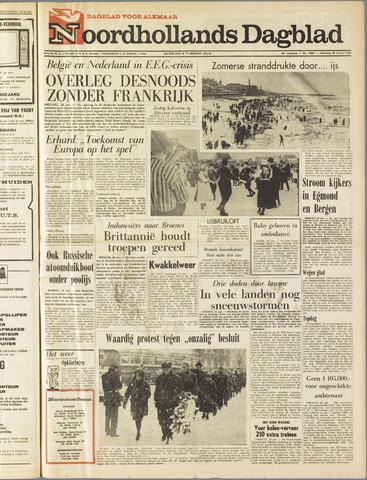 Noordhollands Dagblad : dagblad voor Alkmaar en omgeving 1963-01-28