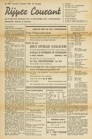 Rijper Courant 1946-11-09