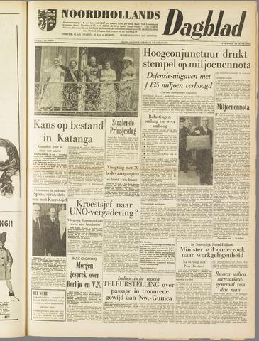 Noordhollands Dagblad : dagblad voor Alkmaar en omgeving 1961-09-20