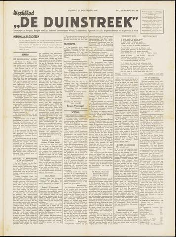 De Duinstreek 1949-12-23