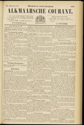 Alkmaarsche Courant 1899-10-11