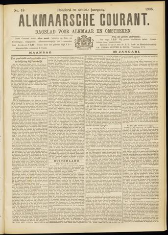 Alkmaarsche Courant 1906-01-22