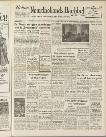 Nieuw Noordhollandsch Dagblad : voor Alkmaar en omgeving 1950-11-18