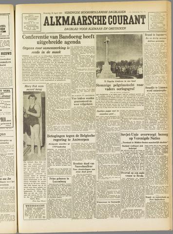 Alkmaarsche Courant 1955-04-18