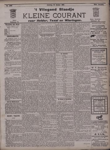 Vliegend blaadje : nieuws- en advertentiebode voor Den Helder 1900-10-20