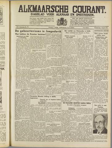 Alkmaarsche Courant 1941-04-03