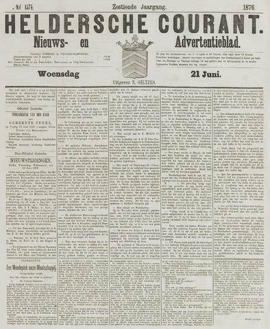 Heldersche Courant 1876-06-21