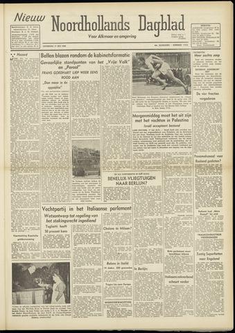 Nieuw Noordhollandsch Dagblad : voor Alkmaar en omgeving 1948-07-17