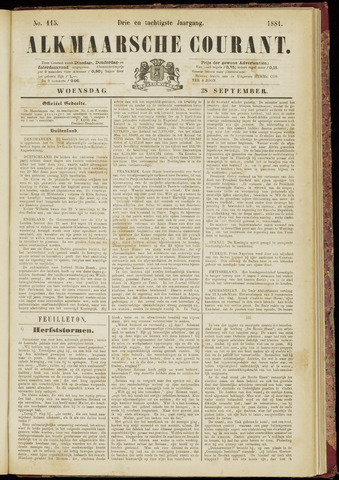 Alkmaarsche Courant 1881-09-28