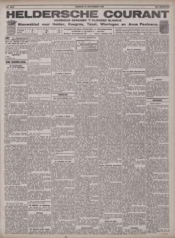 Heldersche Courant 1916-09-12