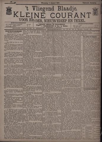 Vliegend blaadje : nieuws- en advertentiebode voor Den Helder 1887-01-05