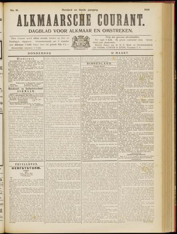 Alkmaarsche Courant 1908-03-12