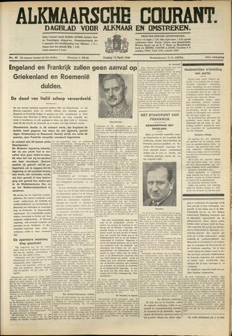 Alkmaarsche Courant 1939-04-14
