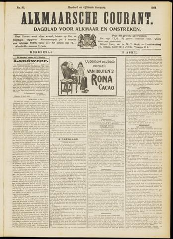 Alkmaarsche Courant 1913-04-10